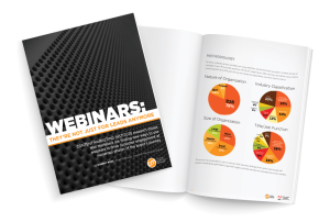 According to a study by the Content Marketing Institute, content marketers who are finding success with webinars are broadening the scope of how they use them and are applying them across the full spectrum of the buyer's journey.